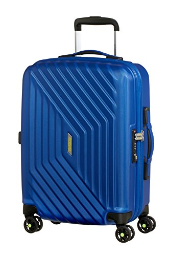 American Tourister Air Force 1 - Maleta, Azul (Insignia...