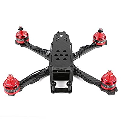215mm FPV Racing Drone Frame for Carbon Fiber Quadcopter Frame Kit with Battery Strap