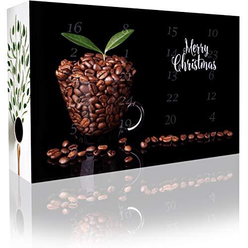 C&T Entkoffeinierter Kaffee-Adventskalender 2018 mit 2 x 12 koffeinfreien Kaffees à 35 g für je 1l...