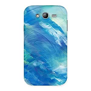 Stylish Art Blue Multicolor Back Case Cover for Galaxy Grand Neo