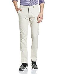 Arrow Mens Casual Trousers (8907538816795_ASUTR2406_34W x 34L_Beige)