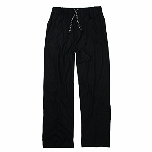 Adamo Bas de Pyjama Long Noir by Grande Taille 10XL Adamo