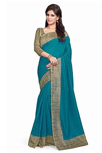Mirchi Fashion - Sari - Donna blu Taglia unica...
