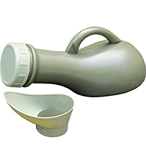 Medipaq Tragbares Urinal, auslaufsicher, ideal für unterwegs, Camping, Festivals, ältere Menschen