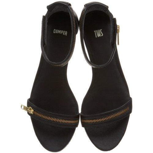 CAMPER, Sandali donna Nero (Nero (nero))