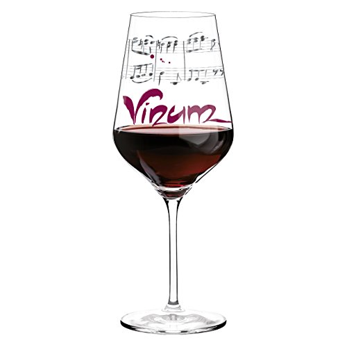 Ritzenhoff Red Design Rotweinglas