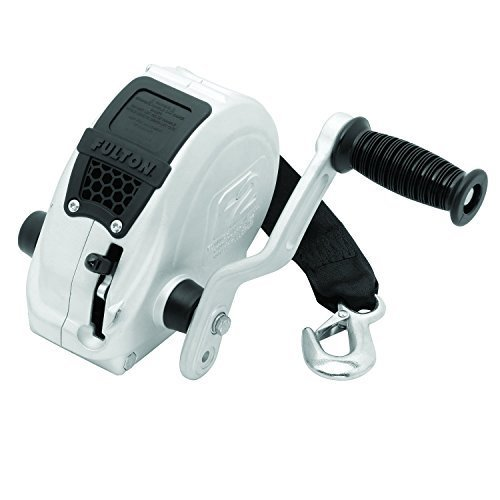 Fulton FW16000101 F2 Trailer Winch with Strap - 1600 lb. Load Capacity by Fulton