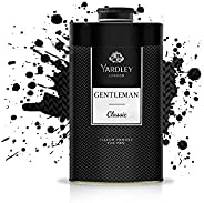 Yardley Gentleman Classic Perfumed Talcum Body Powder , Fresh and scented all-day, 150 gm