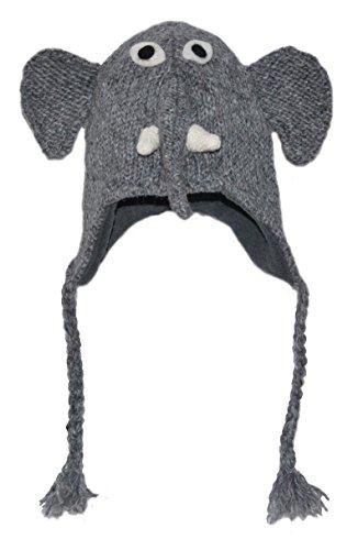 Pink Yak Gorro Animal - Elefante Adulto
