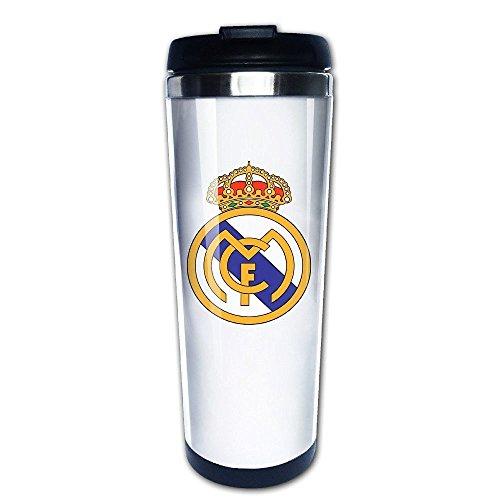 MIOPAIGE Real Madrid Club Logo Vacuum Cup Coffee/Travel Mug(Teetassen/Kaffeetassen)s