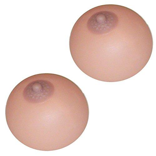 2 x Silikonbrust Knetbrust Knetbusen Brust erotischer Scherzartikel
