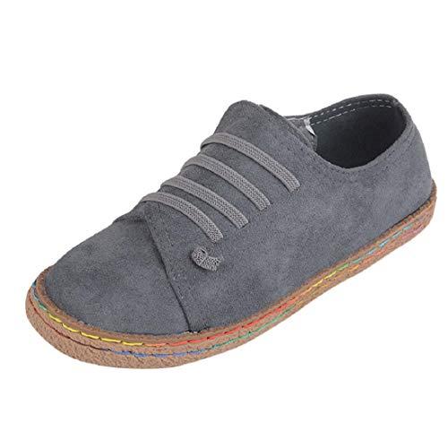 Yesmile Zapatos mujer❤️Zapatos Planos Mujer Las