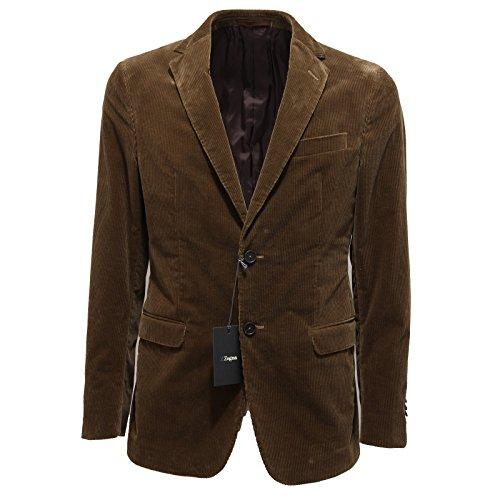 2910M giacca uomo LINEA ZZEGNA ERMENEGILDO ZEGNA velluto cotone coats men [56 R]