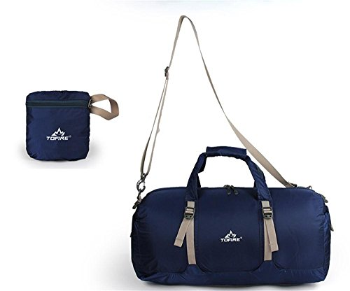 ALUK-Outdoor-Sporttasche Tasche Tasche diagonal Schulter tragbare Falten leichte Sporttasche Königsblau