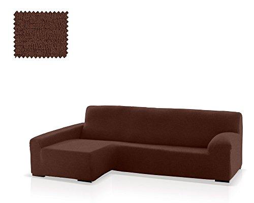 JM Textil Bielastische Husse für Sofas mit Ottomane Eneasis, Ottomane Links, Größe Standard (220-280 cm), Farbe 07