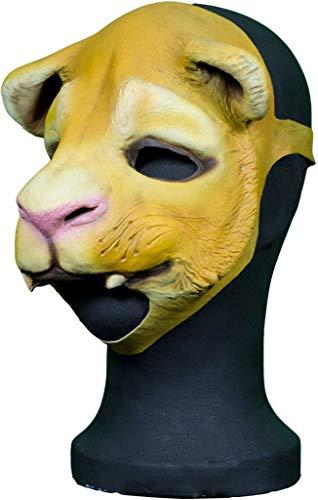 Kostüm Löwen Dompteur - Maskworld Löwen-Maske aus Latex - Tiermaske