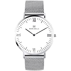 Marc Brüg Men's Minimalist Watch Elysee 41 Hygge