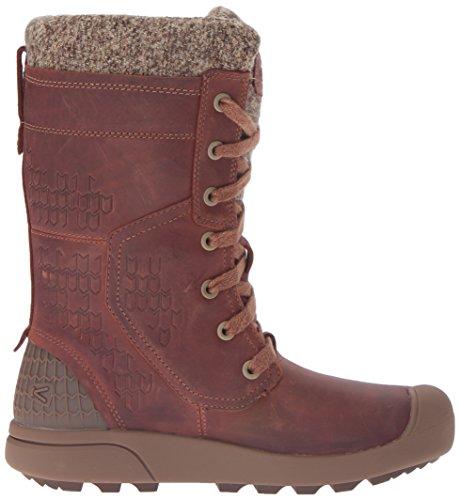Keen , Chaussures de ville à lacets pour femme marron Whiskey Whiskey