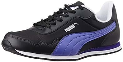 Puma Women's EpochWn'sDP Black, Blue Iris and White Sneakers - 4 UK/India (37 EU)