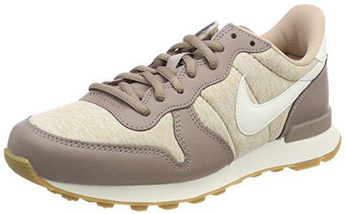 Nike Damen Internationalist Fitnessschuhe, Mehrfarbig (Sepia Stone/Sail-san 203), 38 EU