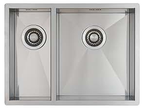 Lavello per cucina in acciaio inox inossidabile for Lavandino acciaio inox