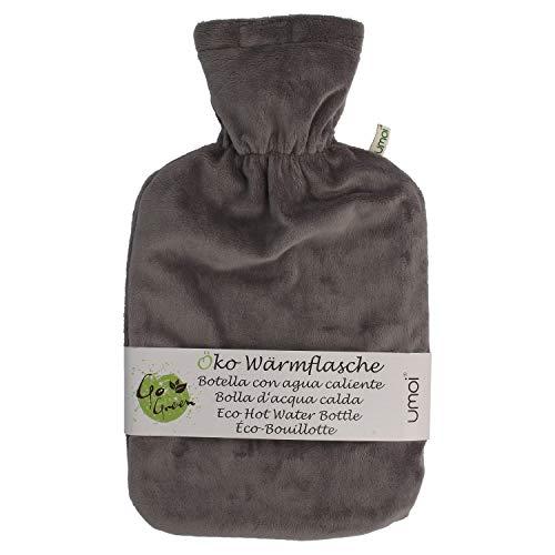 Umoi, ecobotella agua caliente, 2 l cubierta lana