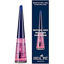 HERÔME Cosmetics Natural Nail Whitener, 1er Pack (1 x 10ml)