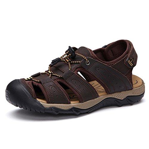 Eagsouni Sandales de Randonnée Extérieur Trekking Chaussures homme café-A