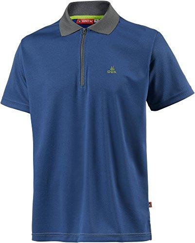 OCK Herren Poloshirt Blau