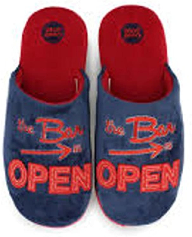 Gioseppo Modelo Open-Zapatillas de hombre de estar por casa