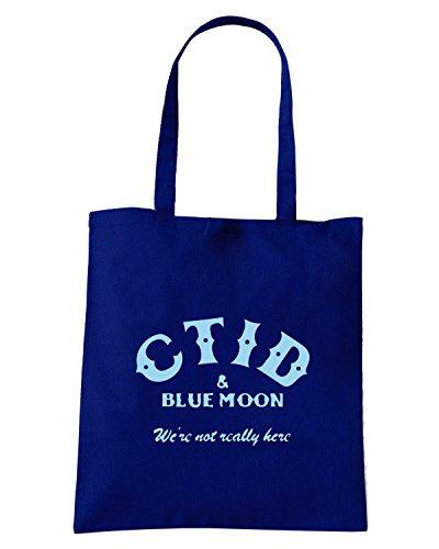 T-Shirtshock - Borsa Shopping WC1083 ctid-and-blue-moon-tshirt design Blu Navy