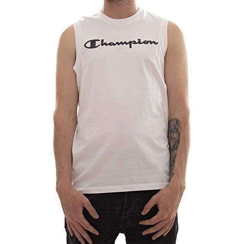 Champion 212689 T Shirt Herren weiß XL -