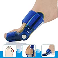 shengshiyujia Big Toe Bunion Device Splint Straightener Hallux Valgus Pro Braces Toe Correction Foot Pain Relief Thumb Care Daily Orthotic(1 pair)