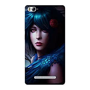 Special Crossed Angel Multicolor Back Case Cover for Xiaomi Mi4i