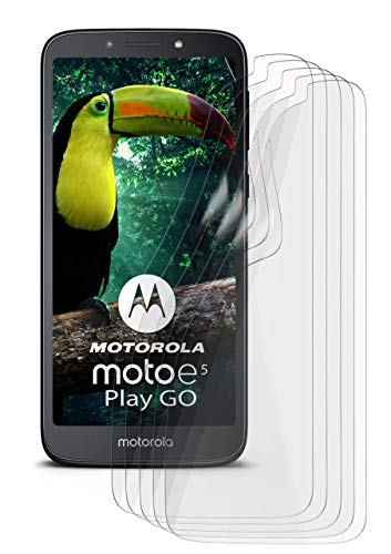5X Motorola Moto E5 Plus   Schutzfolie Matt Display Schutz [Anti-Reflex] Screen Protector Fingerprint Handy-Folie Matte Displayschutz-Folie für Motorola Moto E5 Plus Displayfolie