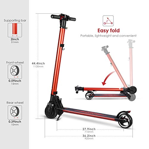PARTU Elektro Scooter - 6