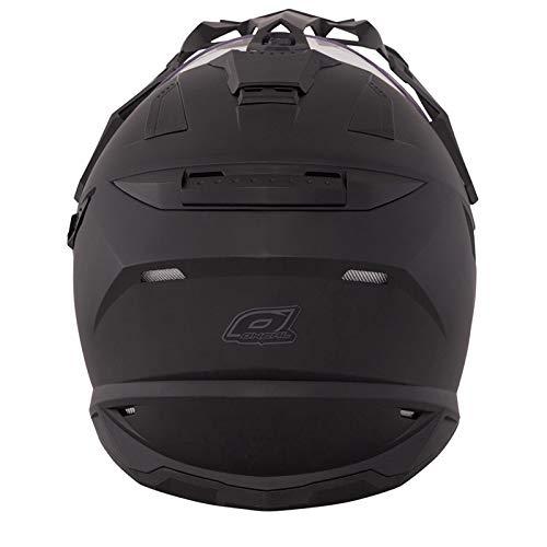 O'Neal Sierra Adventure Enduro Helm matt schwarz aerodynamischer Motorradhelm mit Sonnenblende, 0815-40, Größe X-Small (53 – 54cm) - 2