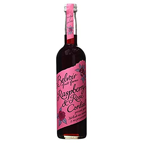 Belvoir Raspberry and Rose Cordial, 500ml