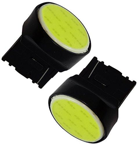Preisvergleich Produktbild Aerzetix – 2 X LED - Ampulle Birne Lampen 12V T20 7440 W21W W3x16D 12LED SMD COB weiße Xenon-Effekt