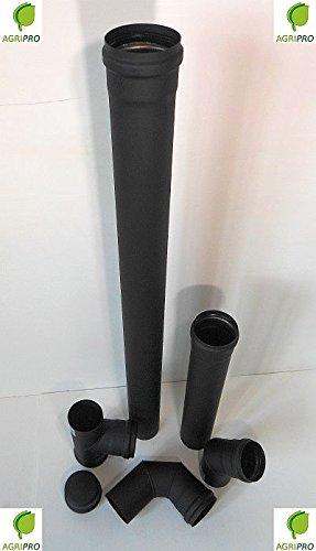ROSONE Copriforo Tubo Scarico Fumi Diametro 80 Per Stufa A Pellet Canna  Fumaria   Tubi Di Scarico   Panorama Auto