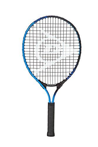 Dunlop, Racchetta da tennis Force Team JNR 21, Nero (Schwarz/Blau), Taglia unica