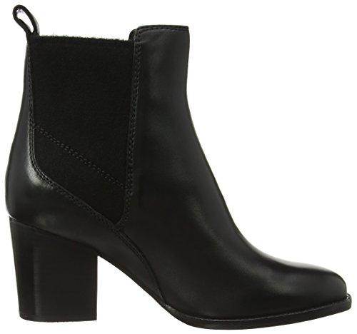 Clarks Damen Othea Ruby Kurzschaft Stiefel Schwarz (Black Leather)