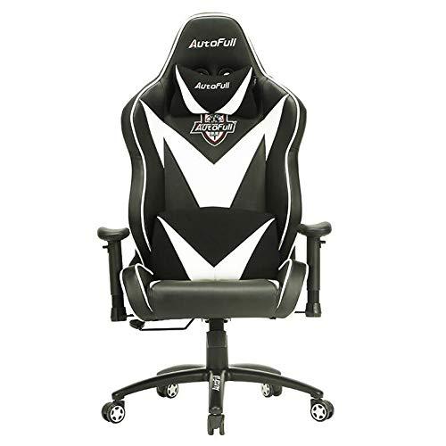 WYYY Bürostuhl E-Sportspielstuhl Rennsitz Ergonomischer Stuhl Computerstuhl Schreibtischstuhl Drehstuhl Anheben Durable stark Radar-bildschirm