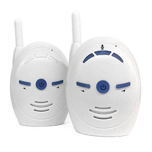 Voice-alarm-sender (Leoboone Portable 2,4 GHz Wireless Digital Audio Baby Monitor V20 Empfindliche Übertragung Zwei-Wege-Talk Crystal Clear Cry Voice Alarm)