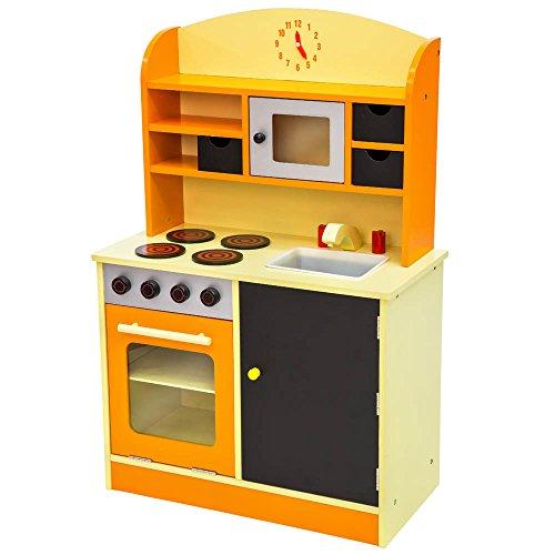 TecTake Cocina de madera de juguete para en Amazon