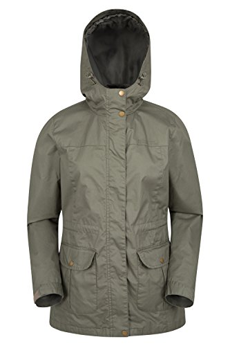 Mountain Warehouse Shore Water-resistant Womens Jacket Kaki