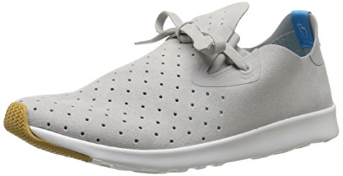 Native Apollo Moc Jiffy Noir Shell Blanc Nat Rubber Gris