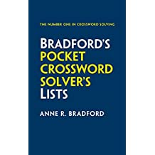 Collins Bradford's Pocket Crossword Solver's Lists: 75,000 solutions in 500 subject lists