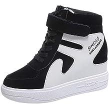 Zapatos De Mujer Sneakers De Mujer,ZARLLE Mujer TacóN De CuñA Linda CóModo Bucle De
