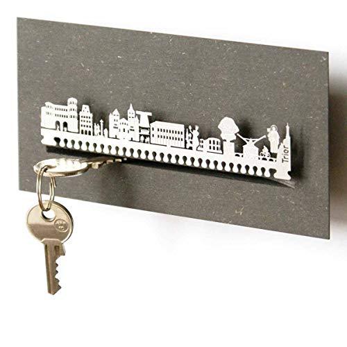 13gramm Trier-Skyline Schlüsselbrett Souvenir in der Geschenk-Box